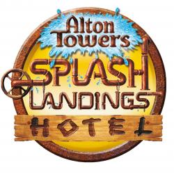Alton Towers Splash Landings Hotel Logo